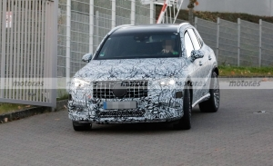 Primeras pruebas, y fotos espía, del futuro Mercedes-AMG GLC 43 2023