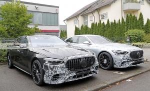 El nuevo Mercedes-AMG S 63 2022 se destapa en estas fotos espía en Nürburgring