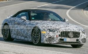 El Mercedes-AMG SL híbrido enchufable será una realidad, ¡primeras fotos espía!
