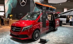 Mercedes lleva al Caravaning 2021 su gama Marco Polo y un Sprinter camperizado