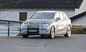 El nuevo Mercedes EQE SUV 2023, cazado en sus primeras fotos espía