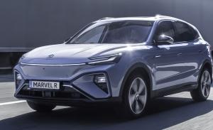 El MG Marvel R Electric, un nuevo SUV eléctrico, llega a Europa y ya tiene precios