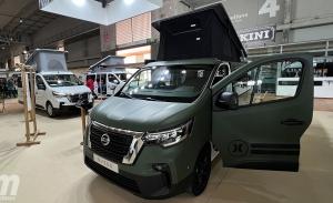 Nissan NV300 Camper 2022, para viajeros incansables y amantes de la naturaleza