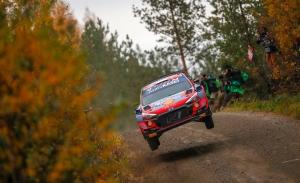 Ott Tänak lidera la ofensiva de Hyundai en el shakedown de Finlandia