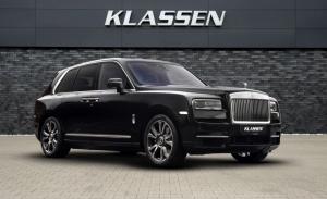 Klassen refuerza la seguridad del Rolls-Royce Cullinan Armored, a prueba de bombas