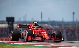 Sainz, un excelente quinto puesto en parrilla comprometido por los neumáticos