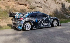 Sébastien Loeb prueba el Ford Puma Rally1 en un test 'alargado'