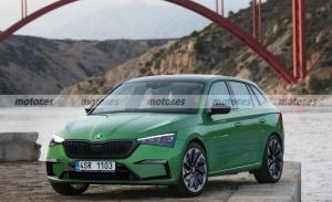 Adelanto del Skoda Scala Facelift 2023, el compacto se revitaliza