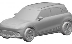 El diseño del esperado SUV eléctrico de Smart se filtra en estas patentes
