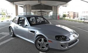 Así sería el Toyota Supra MK4 basado en un Z3 M Coupé