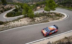 Thierry Neuville acelera el paso en la matinal del sábado del Rally RACC