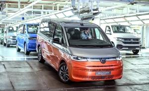 El nuevo Volkswagen Multivan T7 entra en producción en Hannover