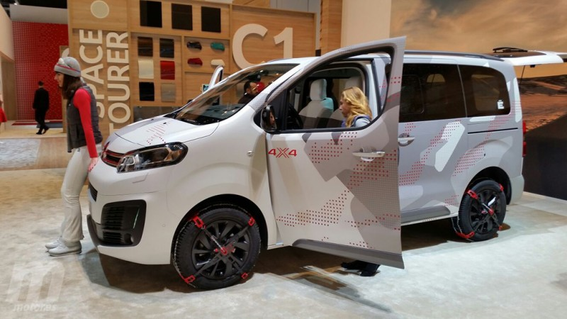 Citroën SpaceTourer 4X4 Ë Concept