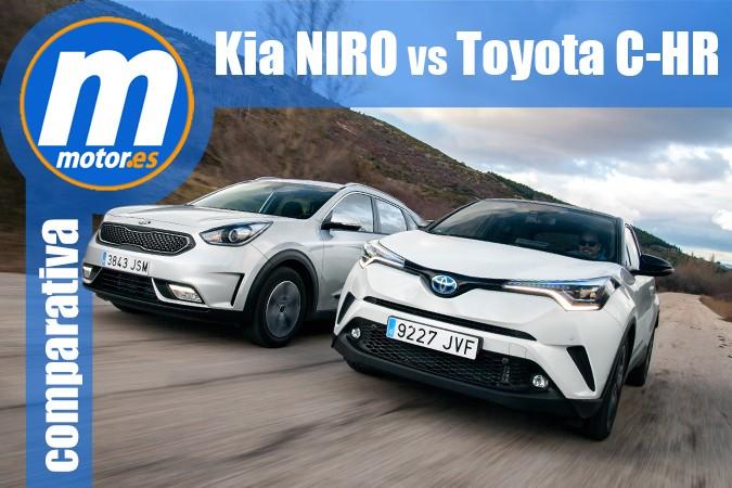 Toyota C-HR vs Kia Niro