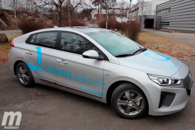 Prueba Hyundai IONIQ eléctrico