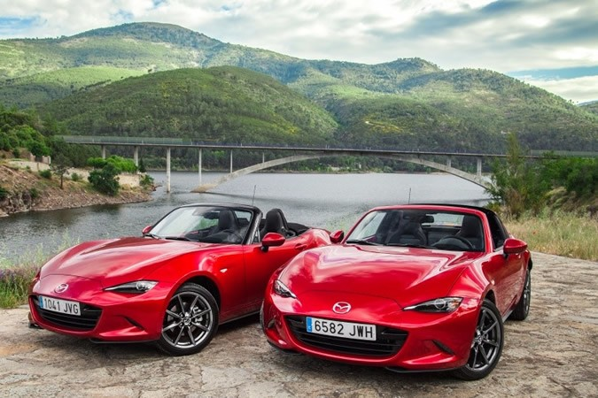 Vídeo comparativa Mazda MX-5 vs MX-5 RF
