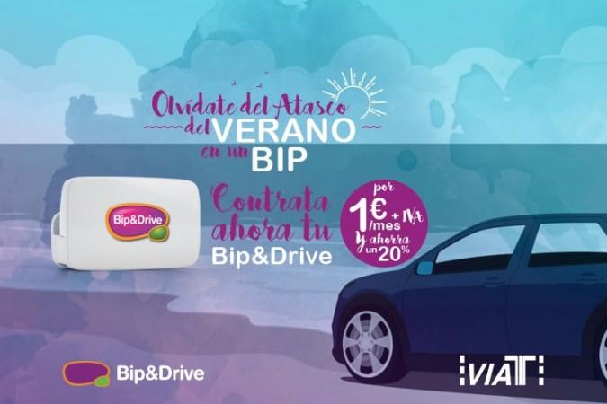 ¿No conoces Bip&Drive? Pruébalo ahora y disfruta de un 20% de descuento