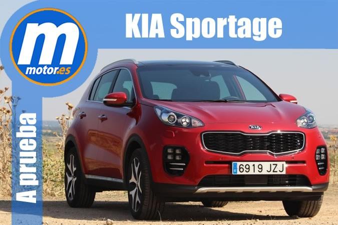 Prueba Kia Sportage 1.7 CRDI GT Line