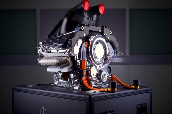 El motor híbrido de la Fórmula 1