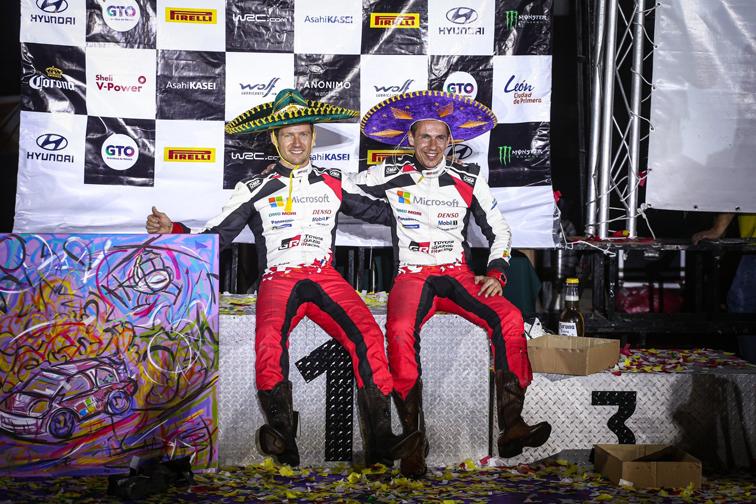 Sébastien Ogier gana el Rally de México para estrenar su palmarés con Toyota