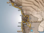Recorreido Dakar 2013